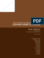 FULL FINAL REPORT Task Force on the WPZ Elephant Exhibit and Program
