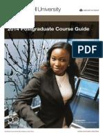 Monash Law Postgrad Course Guide 2014