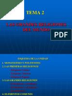 tema 2  la religiones