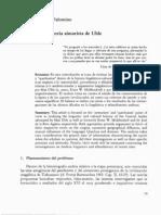 Examen de la teoría aimarista de Uhle (Cerrón-Palomino)
