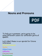 4- nouns and pronouns