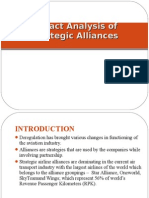 Presentation on Impact Analysis Of Strategic Alliances