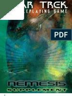 Star Trek RPG Decipher) - Nemesis Supplement