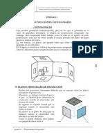 Unidad 1 Proyecciones Ortogonales