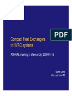 ALFA LAVAL Compact Heat Exchangers in HVAC Systems
