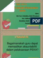 TUTORIAL 15