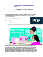 SCMP 062013 the Great Race for Chinas Online Fashion Market