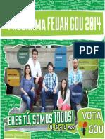 Programa Feuah Gou 2014