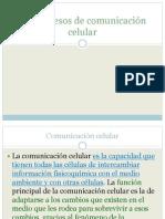 2.2 Procesos de comunicación celular. (2)