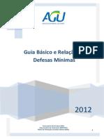 @Relação de Defesas mínimas da PGF (2012)