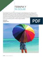 Farmacoterapia y exposición solar. Revisión