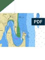 Carta Nautica de Ilhéus (BA)