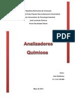 ANALIZADORES QUIMICOS