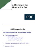 Instruction 8085