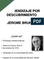 Teoría de Jerome Bruner  17-10-13