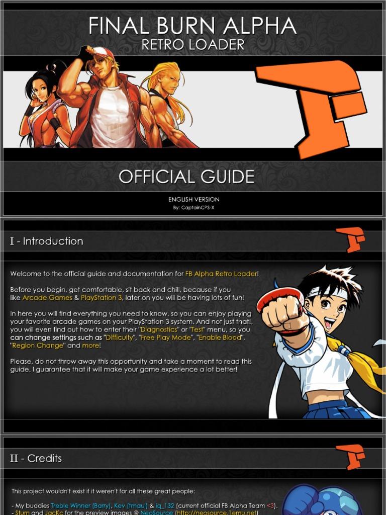 Fb Alpha Rl Software Manual r1