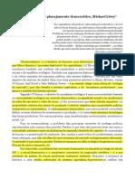 Michael Löwy - Ecossocialismo e planejamento democrático