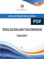 DSK Teknologi Maklumat Dan Komunikasi Thn 4 BM