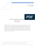 Air Emissions in Texas