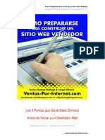 6. Como Prepararse Para Construir Un Sitio Web Vendedor