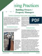 BuildingOwners-PropertyManagers CommerceCourt 16June2011