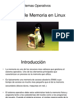 Gestión de Memoria en Linux