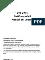 Manual Zte v791