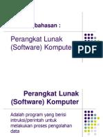 Perangkat Lunak Software Komputer