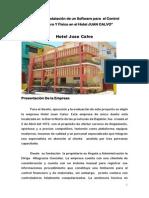 DAJABON  Diseñar e Instalar un Software para  el Control Financiero Y Físico en el hotel
