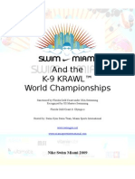 Swim Miami Meet Book 2009