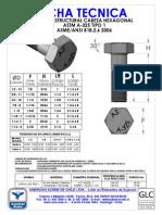 Ficha Tecnica Perno Estructural Astm a-325 Tipo 1