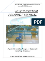 Adept Conveyor Technologies Product Manual