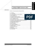 Section 16 AnalogToDigitalConverter(ADC)