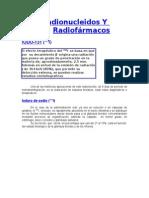 Radionucleidos Y Radiofármacos