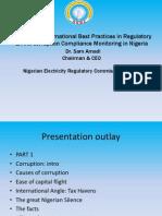 Corruption & Regulation