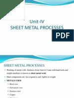 152412786 Unit 4 Sheet Metal Process Ppt