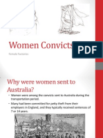 women convicts