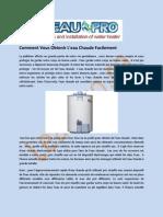 Chauffe-Eau À Meilleur Prix - L'eau Pro