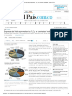 Empresas del Valle aprovechan los TLC y se convierten 'multilatinas' - diario El Pais