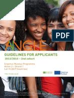 ANGLE Guidelines for Applicants 2nd Cohort En