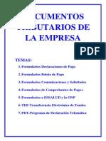 Documentos Tributarios de La Empresa