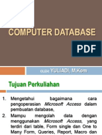 1 - 2 Pengantar Computer Database Dengan Access