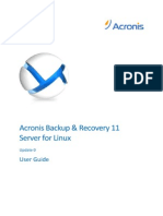 Acronis User guide