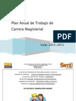 Plan Anual de Trabajo FECA 2013