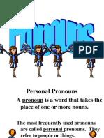 pronouns pp for cloze notes