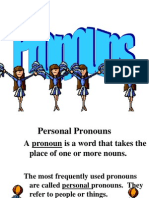 pronouns pp for cloze notes