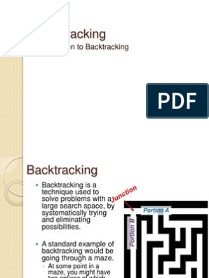 Backtracking | Theoretical Computer Science | Software