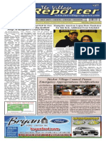 The Village Reporter - October 23rd, 2013