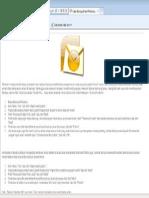 Backup Outlook