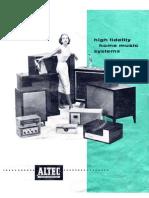 Altec - Catalog 1964